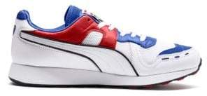 Puma Men's RS 100 Sound Sneaker - Blue - Size 10