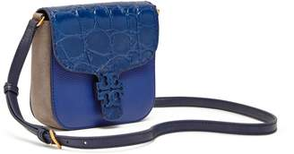 Tory Burch MCGRAW EMBOSSED CROSS-BODY