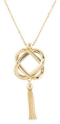 14K Knot Pendant Necklace