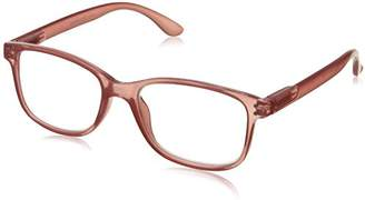 Peepers Unisex-Adult Happy Hour 835100 Square Reading Glasses
