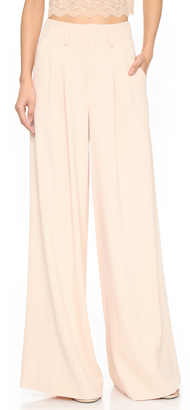 alice + olivia Eloise Wide Leg Trousers $297 thestylecure.com