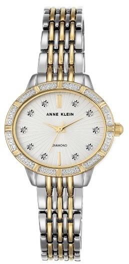 Anne KleinWomen's Anne Klein Oval Diamond Bracelet Watch, 28Mm