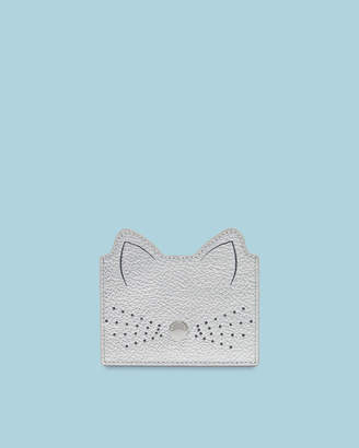 Ted Baker ANATONI Cat whiskers leather card holder