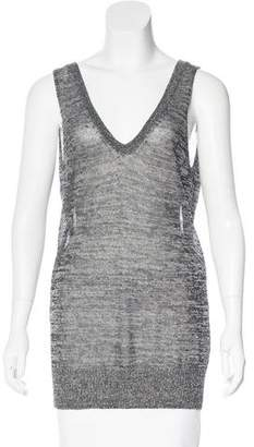 Giada Forte Linen Sleeveless Top