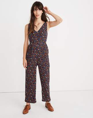 Madewell V-Neck Jumpsuit in Garden Party