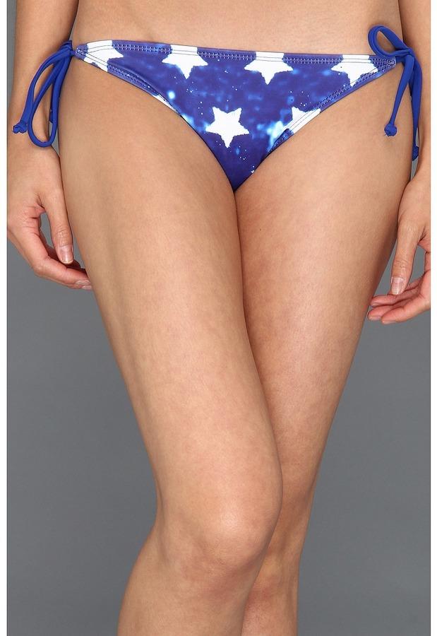 Hurley Stars and Stripes Tie Side Bottom (Multi) - Apparel