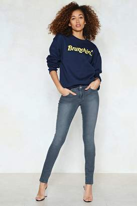 Nasty Gal Fade It Skinny Jeans