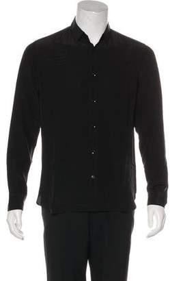 Saint Laurent Silk Woven Shirt