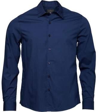 Peter Werth Mens Poplin Shirt Navy