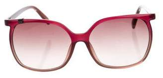 Calvin Klein Collection Ombré Acetate Sunglasses