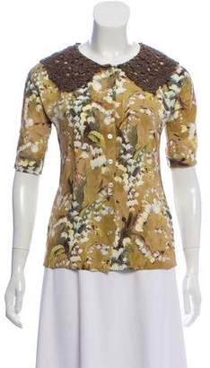 Dolce & Gabbana Floral-Printed Button-Down