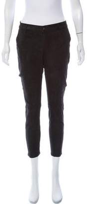 Rag & Bone Mid-Rise Leather Pants