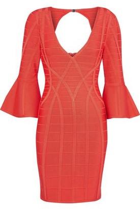 fb19b4742dd Herve Leger Orange Dresses - ShopStyle