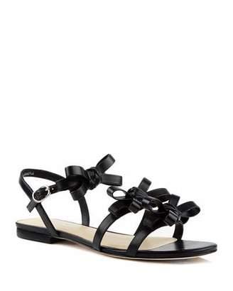 Isa Tapia Nikita Flat Leather Sandals