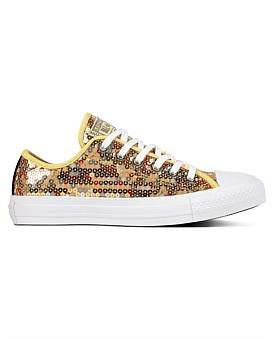 f2d22afcdd25 at David Jones. Converse Ct All Star Sequined - Ox Sneaker