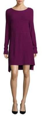 Donna Karan Mixed Rib-Knit Dress