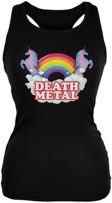 Old Glory Death Metal Rainbow Juniors Soft Tank Top