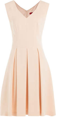 HUGO Dress with Pleated Skirt
