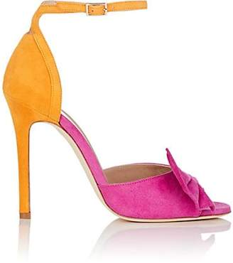 Alexander White Women's Maria Suede Ankle-Strap Sandals