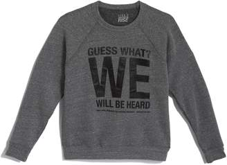 GUESS Gilt Exclusive Women's Gilt x Together We Rise What? We Will Be Heard Sweatshirt