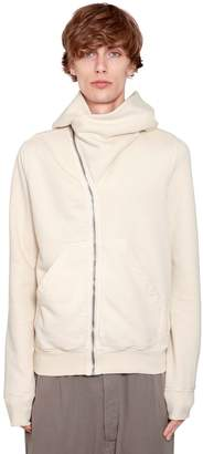 Rick Owens Drkshdw Hooded Zip-Up Jersey Sweatshirt