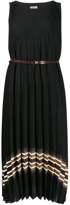Brunello Cucinelli pleated midi dress