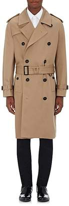 Burberry Men's Cotton Double-Breasted Trench Coat