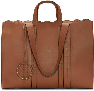 Vince Camuto Wavy Leather Tote