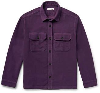 Très Bien Cotton-Moleskin Overshirt