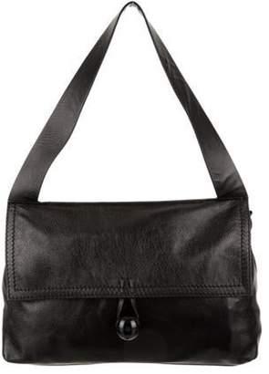 Corto Moltedo Patent Leather Messenger Bag Black Patent Leather Messenger Bag
