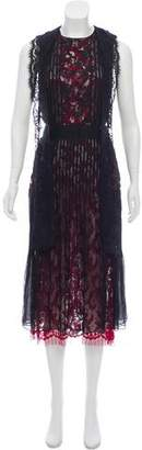 Oscar de la Renta Sleeveless Maxi Dress