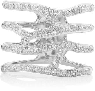 Monica Vinader Riva Waterfall Diamond Cocktail Ring