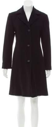 Calvin Klein Wool Knee-Length Coat