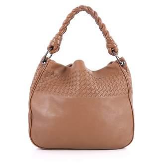Bottega Veneta Brown Leather Handbag