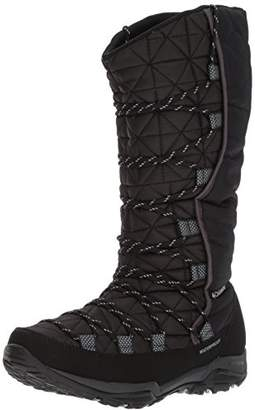 Columbia Women's Loveland Omni-Heat Snow Boots, Black (Black/Earl Grey), 38.5 EU