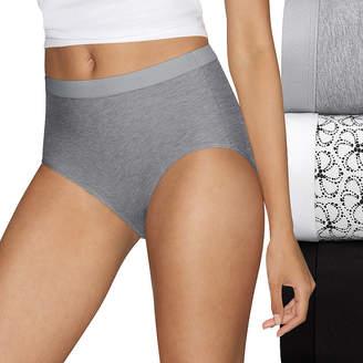 65c1ff44741e Hanes Ultimate Constant Comfort X-Temp 3 Pair Knit Brief Panty 40xtb5