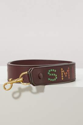 Anya Hindmarch Rainbow Smile strap
