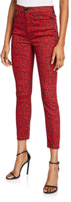 Alice + Olivia JEANS Good High-Rise Ankle Skinny Jeans