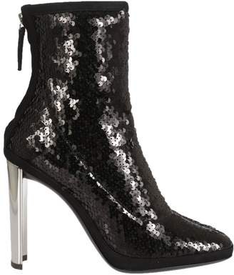 Giuseppe Zanotti Luce Sequined Ankle Boots