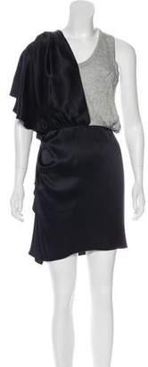 Alexander Wang Satin Mini Dress