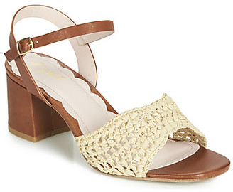 Miss L Fire Miss L'fire Miss L'Fire MIRO women's Sandals in Brown