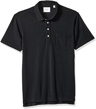 Billy Reid Men's Short Sleeve Pensacola Polo Shirt with Pocket