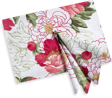 Blossoms Placemat and Napkin
