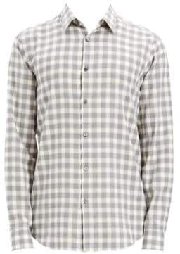 Theory Irving Flannel Check Shirt