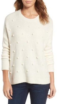 Women's Madewell Bobble Pullover Sweater $98 thestylecure.com