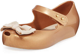 Mini Melissa Ultragirl Sweet Bow Mary Jane Flats, Toddler