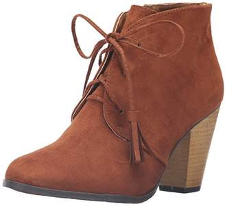 Qupid Women's Nixon-14 Ankle Bootie