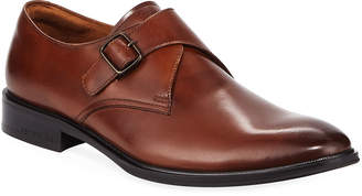 Kenneth Cole Men's Leather Monk-Strap Dress Shoes
