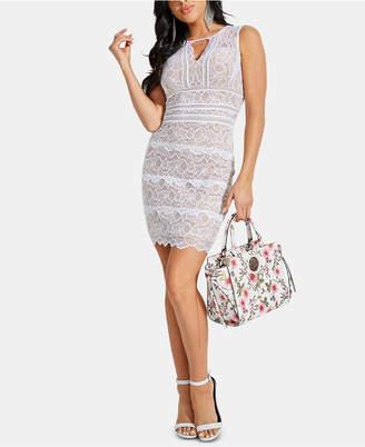 GUESS Kason Lace Bodycon Dress