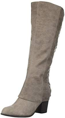 Fergalicious Women's Tootsie Wide Calf Knee High Boot